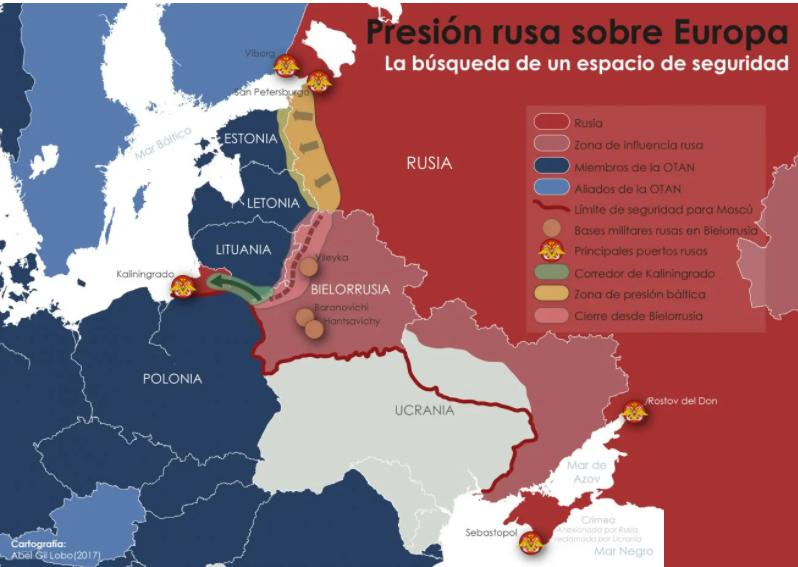 Europa-Rusia-OTAN-Geopolítica-Seguridad-Conflictos-Tensión-OTAN-y-Rusia