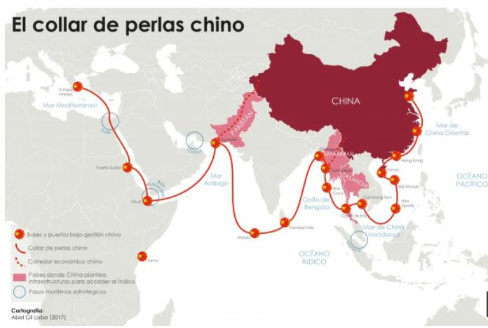 collar de perlas chino